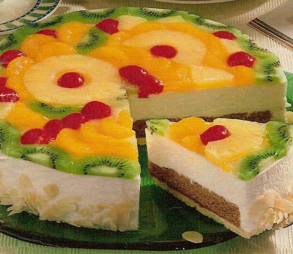 Рецепт приготовления с желатином фрукты
