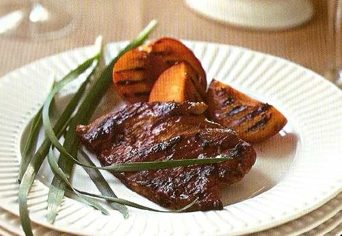 Мясо в сливовом соусе рецепт