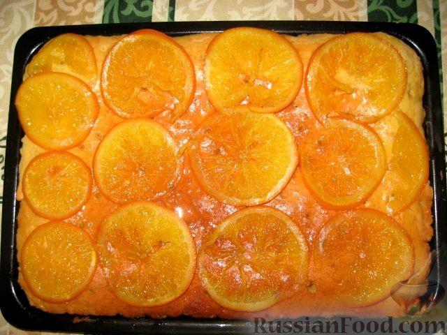 Апельсиновый пирог пошаговый рецепт с фото