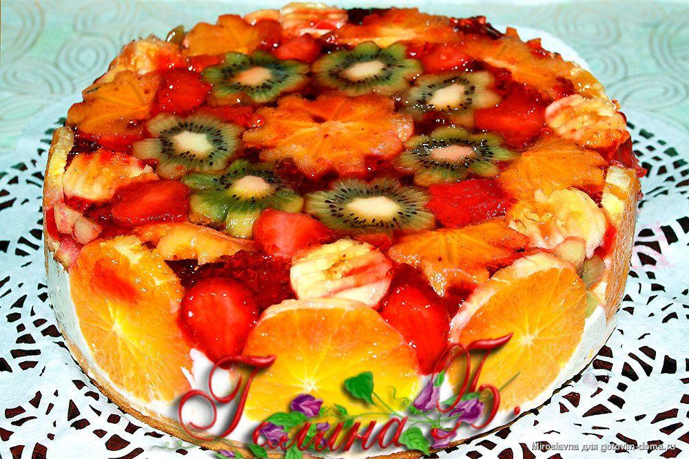 Рецепты торты с желе и