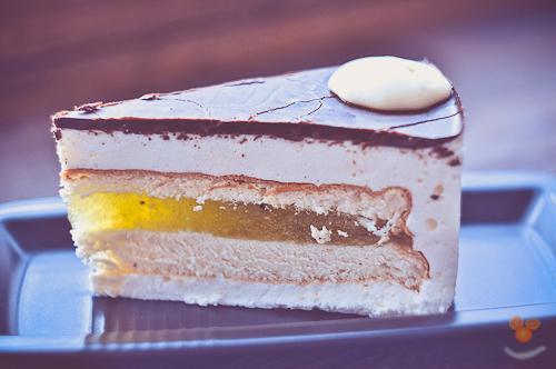 Торт с молоком и желатином