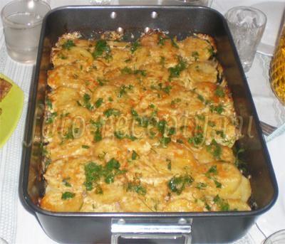 Картошка с баклажанами в мультиварке рецепт с фото