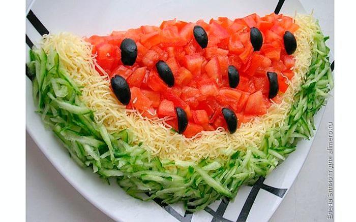 рецепты салатов бесплатные