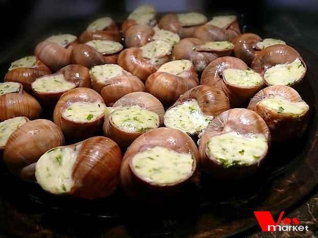 Блюда из улиток ахатиныы