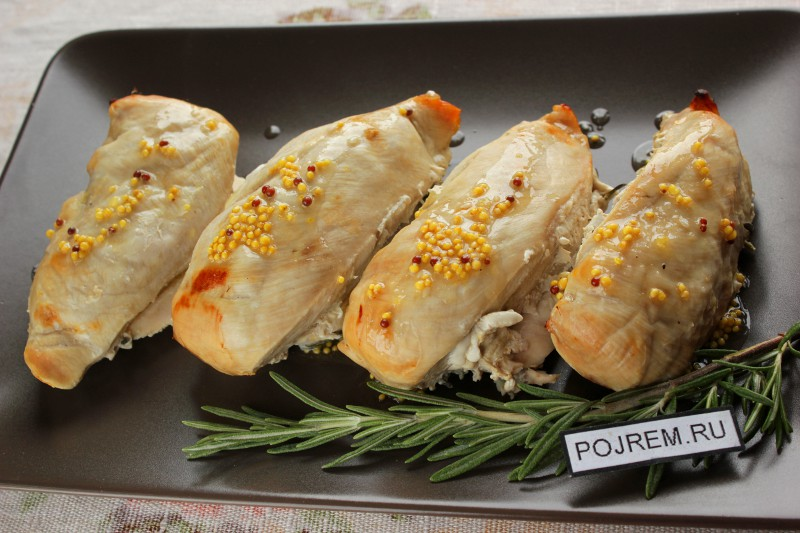 Куриное филе в духовке рецепт с фото пошагово