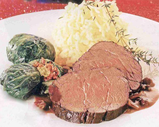 Рецепт приготовления мяса на в духовке