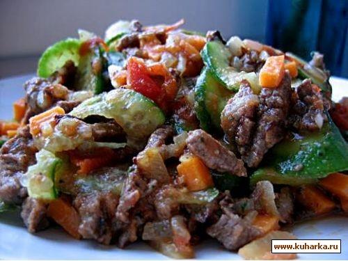 Как приготовить салат мясной с