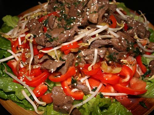 Соус для салата из говядины с соевым соусом