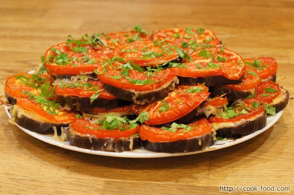 Блюда из баклажанов с помидорами и сыром