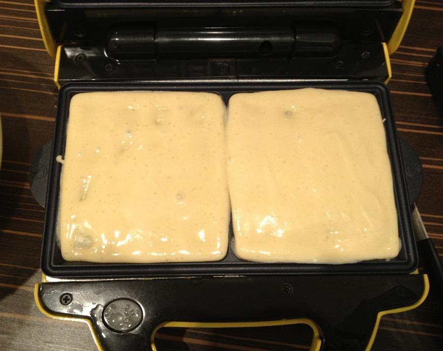 Вафли в сэндвичнице рецепт с фото пошагово