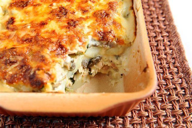 Картошка с филе курицы в духовке рецепт с фото пошагово